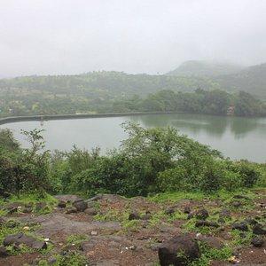 A spot above dam