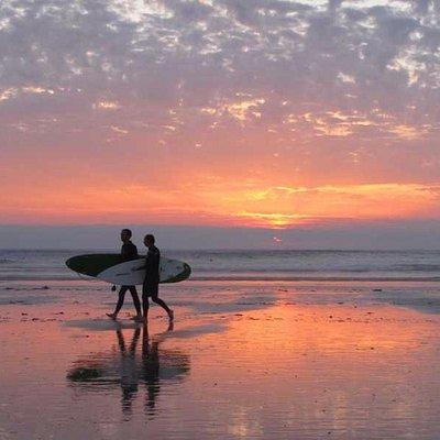 Surfer an la Torche