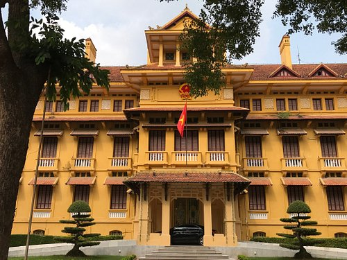 Ho Chi Minh Presidential Palace Historical Site
