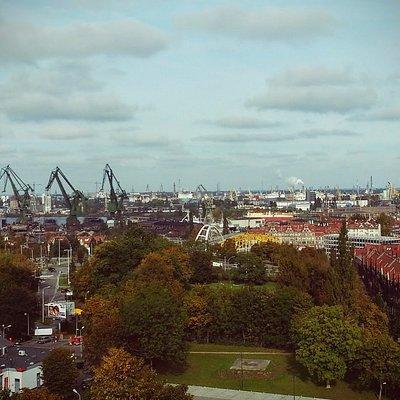 widok z Góry Gradowej