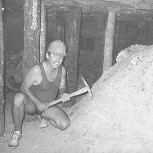 John Rynes ODF founder, mining in the 80's.