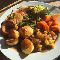 This is the best Sunday roast dinner I have had for over 20 years
