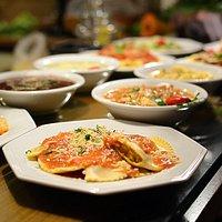 Deliciosos pratos para você levar para sua casa.