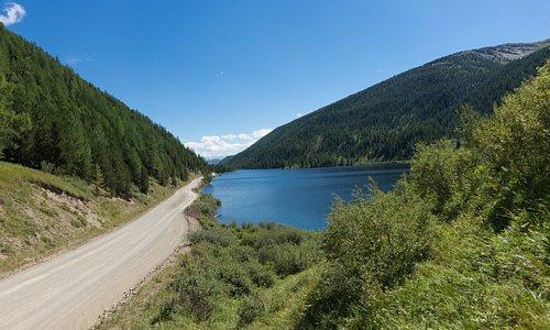 Вид на озеро ЧейбекКёль
