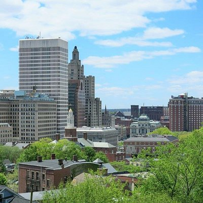 View of Providence Downtown