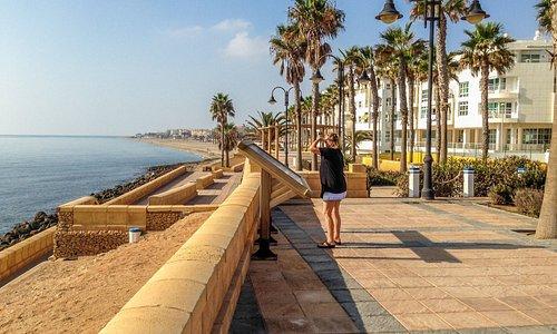 serena beach in centrum Roquetas de Mar