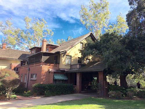 Front of Marston House Museum