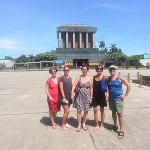 Ho Chi Minh's Mausoleum In Ha Noi - Viet Nam