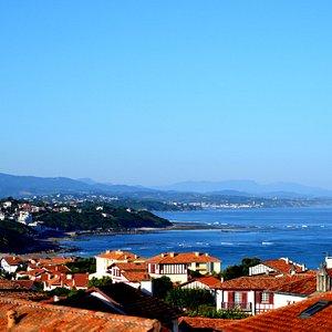 Bidart, le village sur la mer