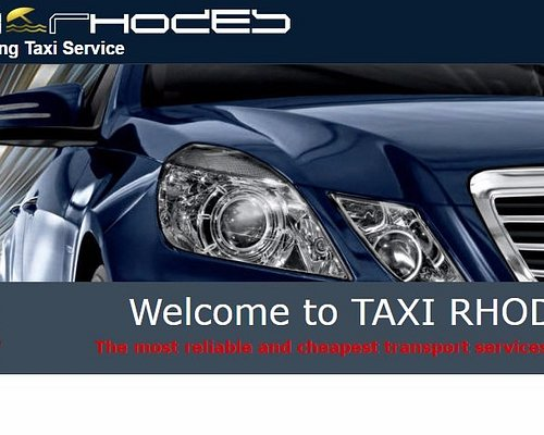 Welcome to Taxi - Rhodes Pre Booking Taxi Service