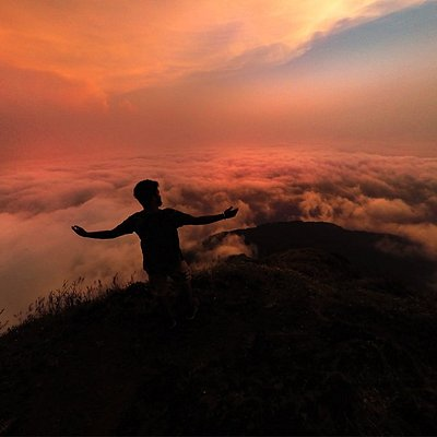 Clouds and Me @ EcoTrek Kodachadri,Karnataka