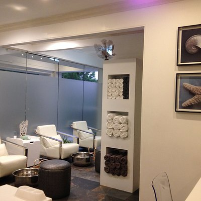 Our serene Manicure and Pedicure Lounge.