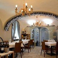 Salão da Osteria Del Vicoletto