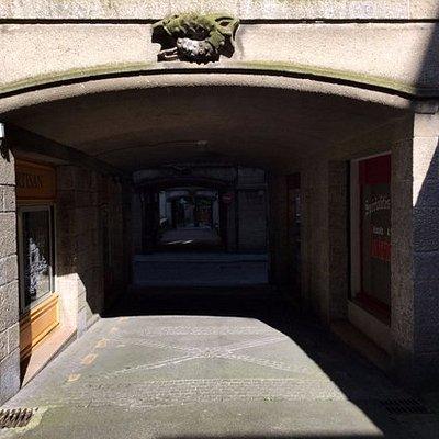 Entrada a edificio