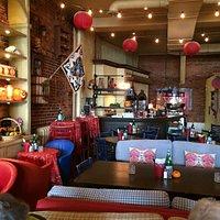 inside Angeline restaurant