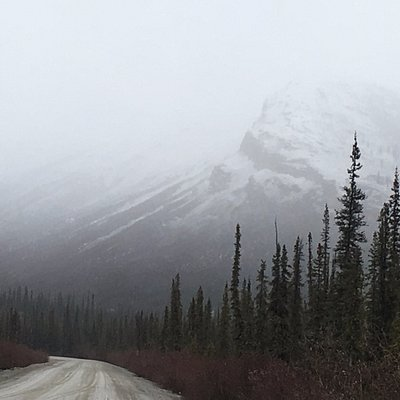 Mountain on way back to Cold Foot from Prudhoe Bay