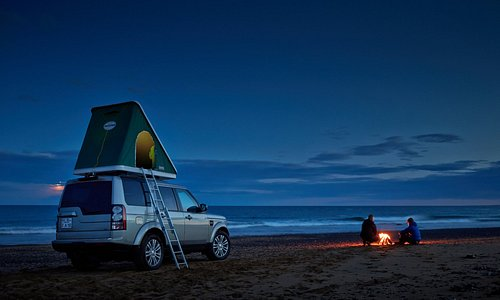 A camping car gives incredibly flexibility in choosing where to camp on the journey around Icela