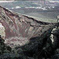 Monte Corona, the crater
