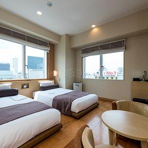 The Twin Room at the Via inn Shinjuku