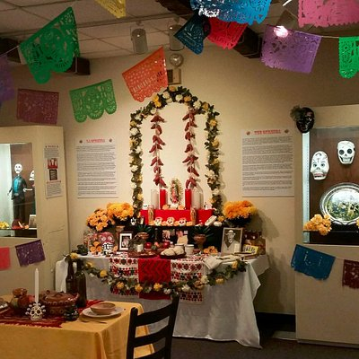 Each fall, the Museum displays an exhibit about the Day of the Dead celebration in Mexico.