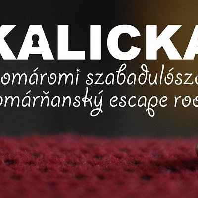 Kalicka is the first and only escape game in the Komárno region.