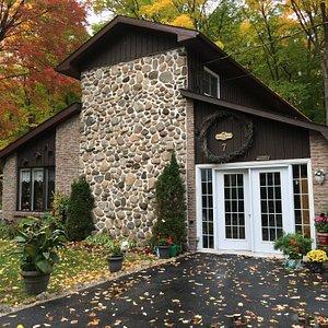 La maison d'hôtes en automne