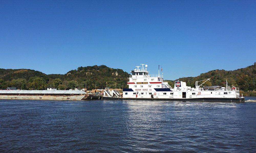 A river barge we met.