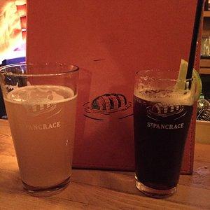 Bière et cocktail