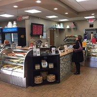 Lezza Elmhurst Interior Bakery Counter