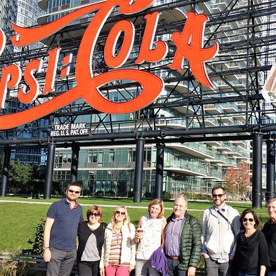 Behind the Famous Pepsi Cola Sign