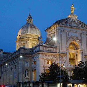 Early Evening, October 2016: Basilica di Santa Maria degli Angell