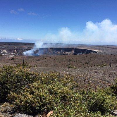a look at the caldera