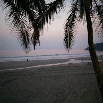 Sunset At Bogmallo Beach