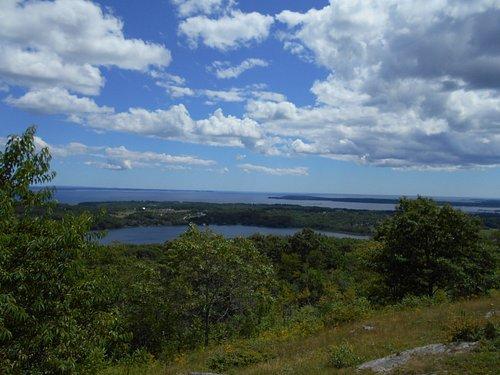 Chickawaukee Lake from Dodge Mountain