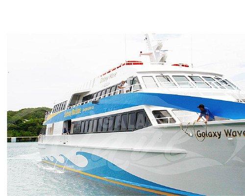 El Galaxy Wave puede llevar 460 pasajeros con un tiempo de viaje de 75 minutos.