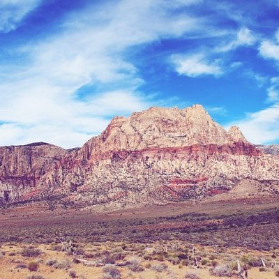 Stunning Red Rock Canyon, just outside Las Vegas