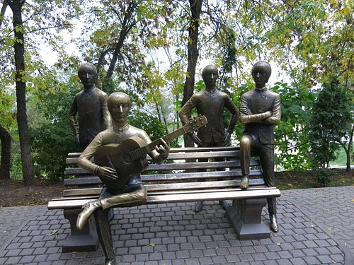 Beatles Monument, Almaty of all places.
