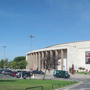 Vista geral do edifício