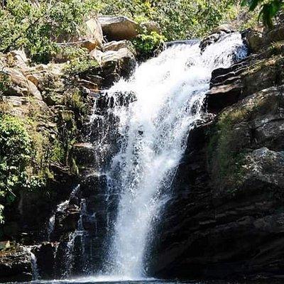 Cachoeira incrível!!! Águas tranquilas para relaxar!!!