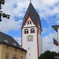 Романская башня церкви св.Иоанна в Нассау