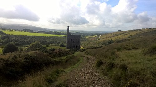 View of Wheal Betsy