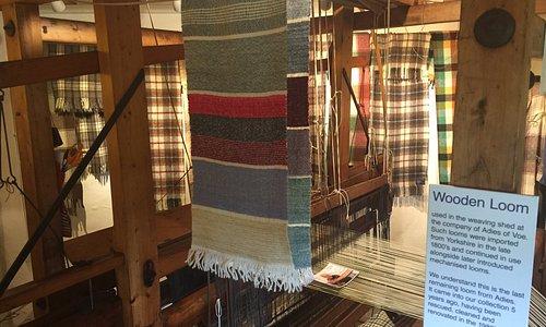 Large wood loom