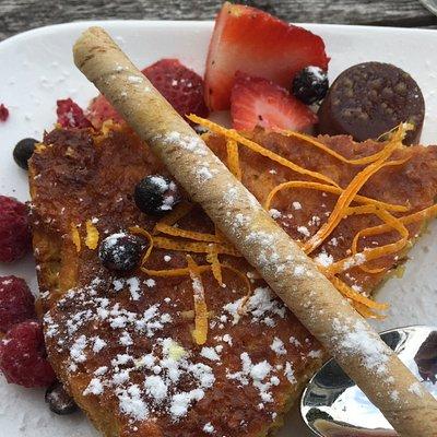 Amazing gluten free almond and orange cake