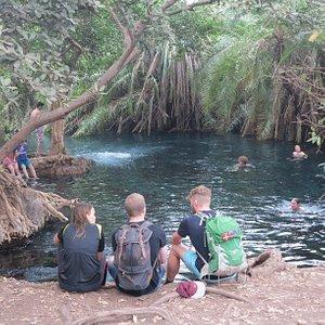 rundugai cultural tourism at the hot springs