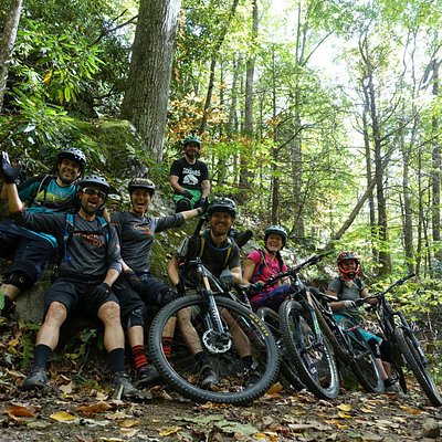 Riding bikes in Pisgah is the best!!