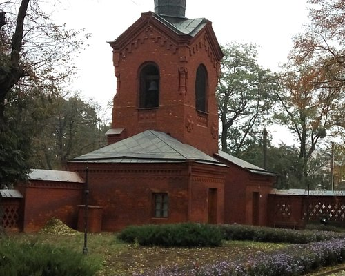 Церковь-Некрополь Н.И.Пирогова (внутри фоторграфировать нельзя)