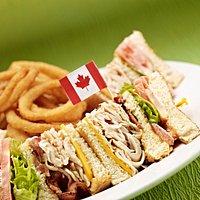 Brewhouse Club Sandwich