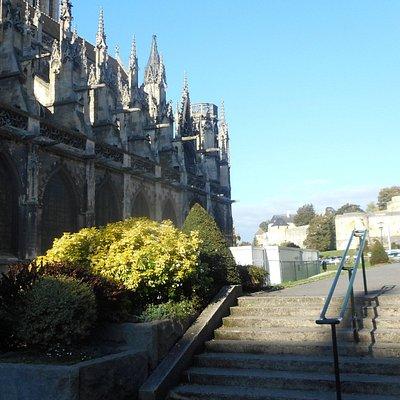 Eglise St Pierre & Château Caen