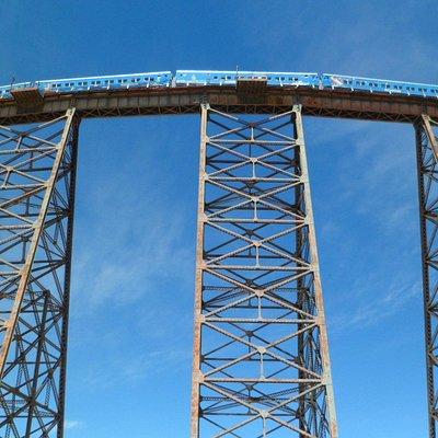 Viaducto La Polvorilla. Paso del Tren a las Nubes