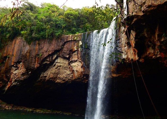 Cachoeira da Reserva Ecológica da Família Lima.